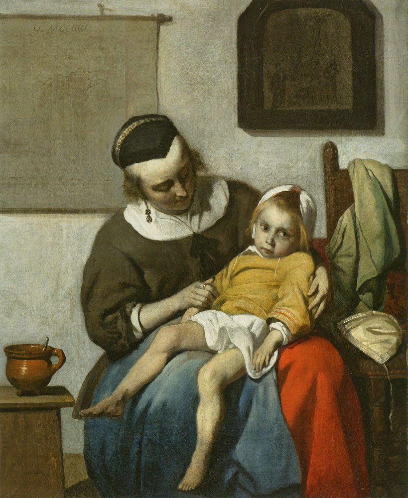 Gabriel Metsu - The Sick Child