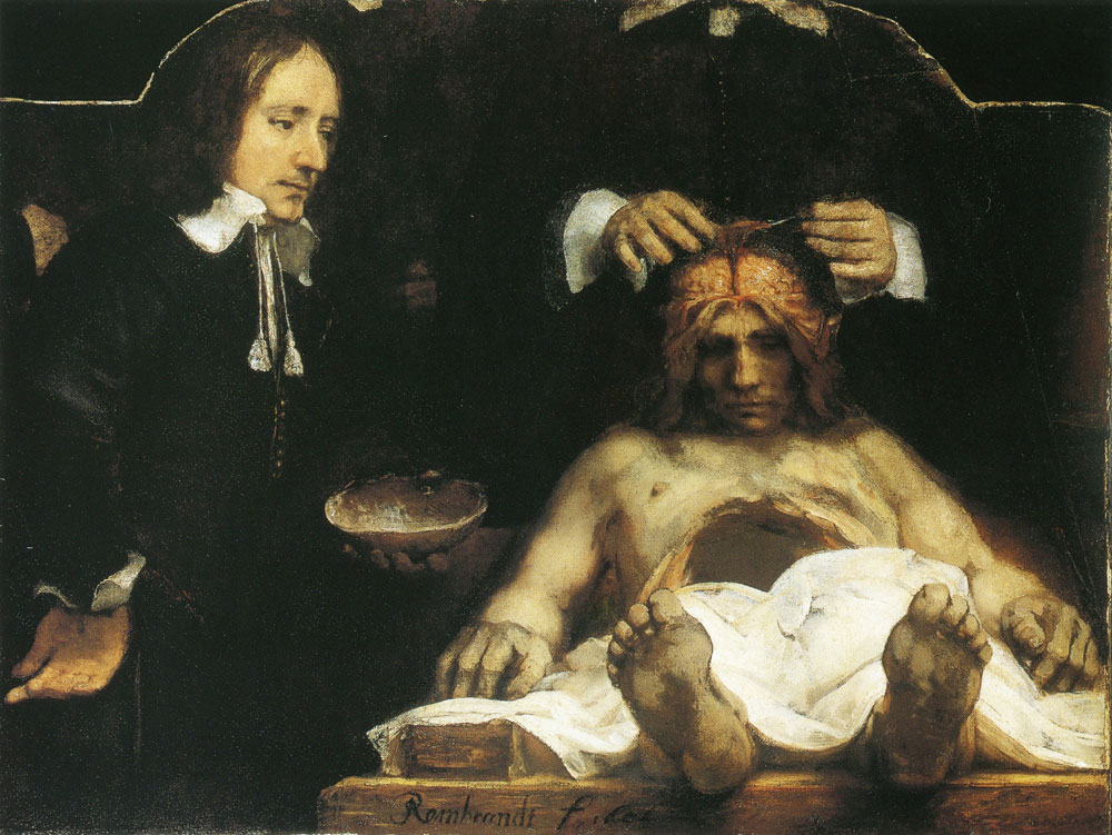 Rembrandt - The Anatomy Lesson of Dr Johan Deyman
