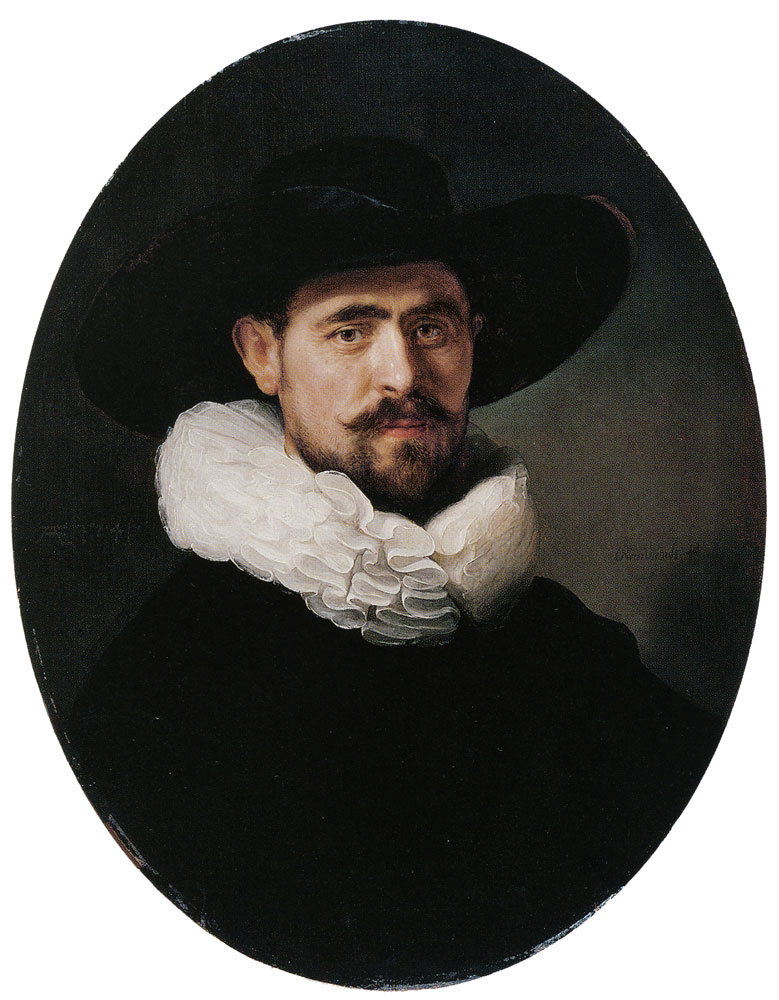 Rembrandt - Portrait of a Bearded Man, Possibly Pieter Sijen