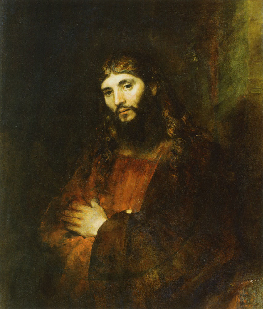 Rembrandt - Christ with Arms Folded