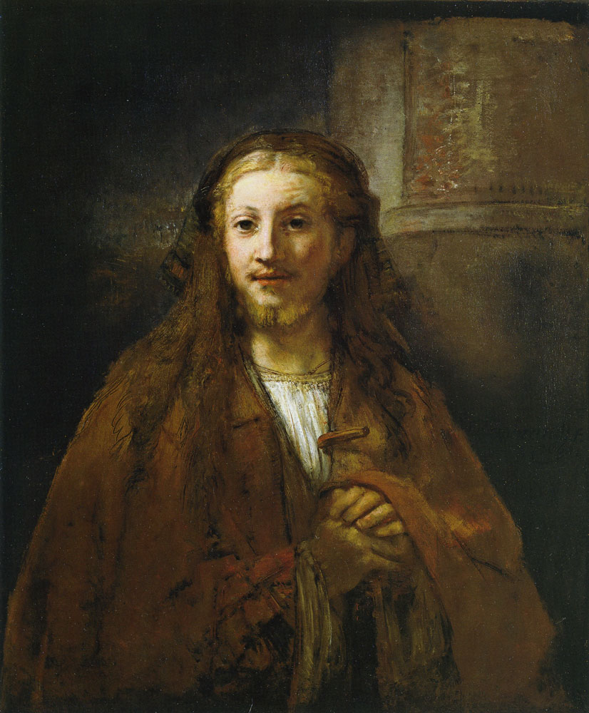 Rembrandt - Christ with a Pilgrim's Staff