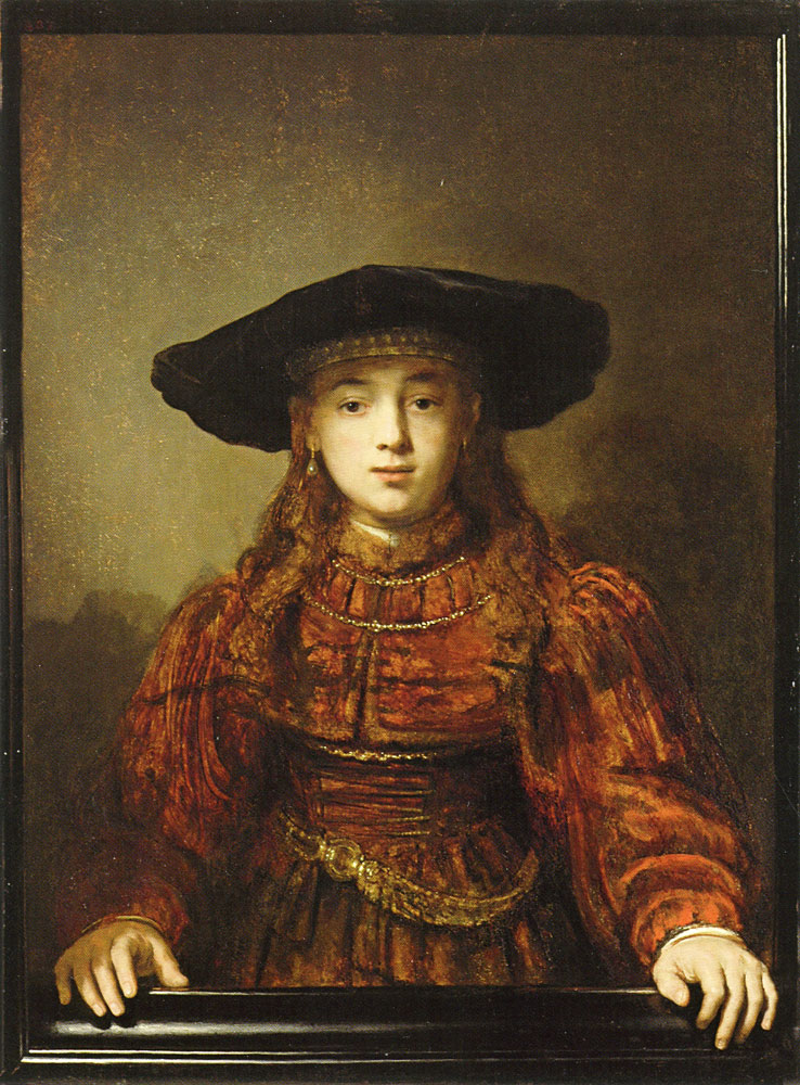 Rembrandt - Portrait of a girl