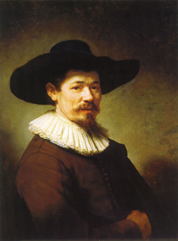 Rembrandt - Portrait of Herman Doomer