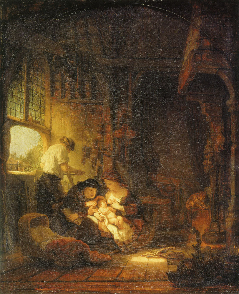 Rembrandt - The Holy Family