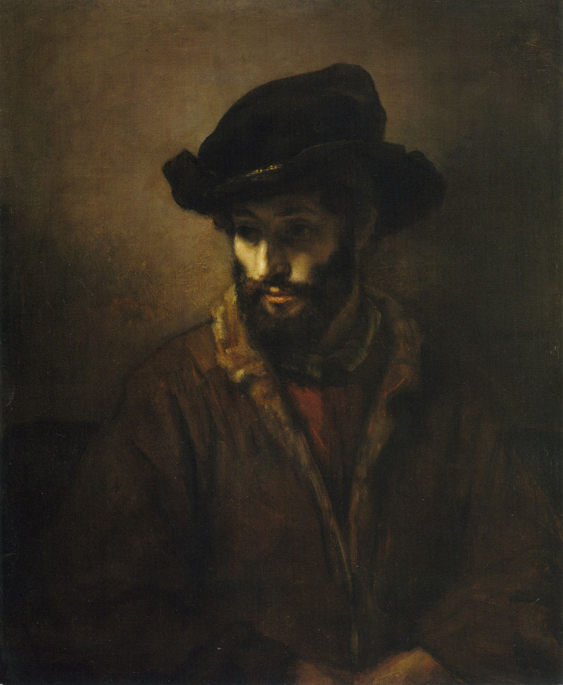 Workshop of Rembrandt - Portrait of a Man
