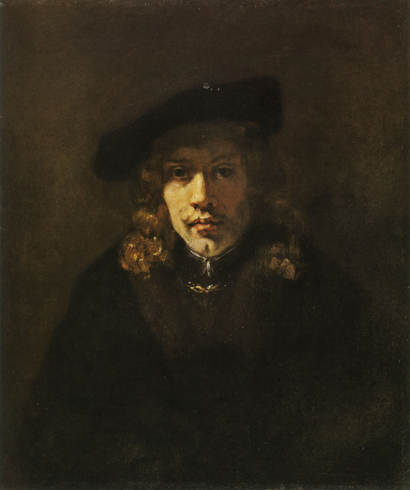 Style of Rembrandt - Man in a Beret