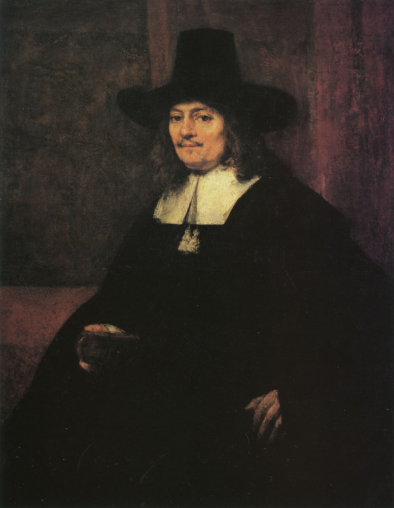 Rembrandt - Portrait of a Man in a Tall Hat