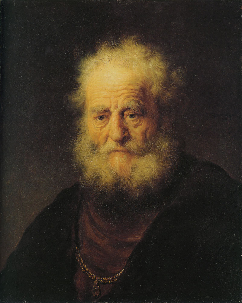 Rembrandt - Bust of an Old Man