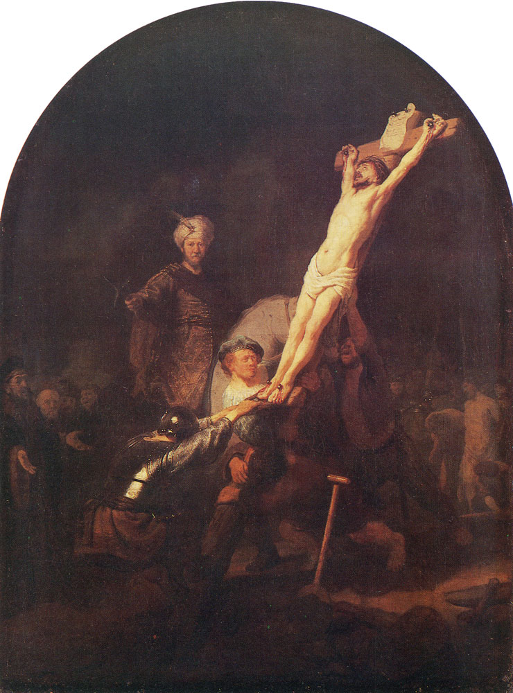 Rembrandt - The Raising of the Cross