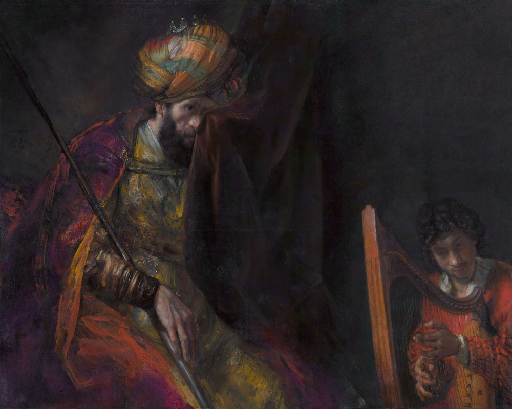 Rembrandt - Saul and David