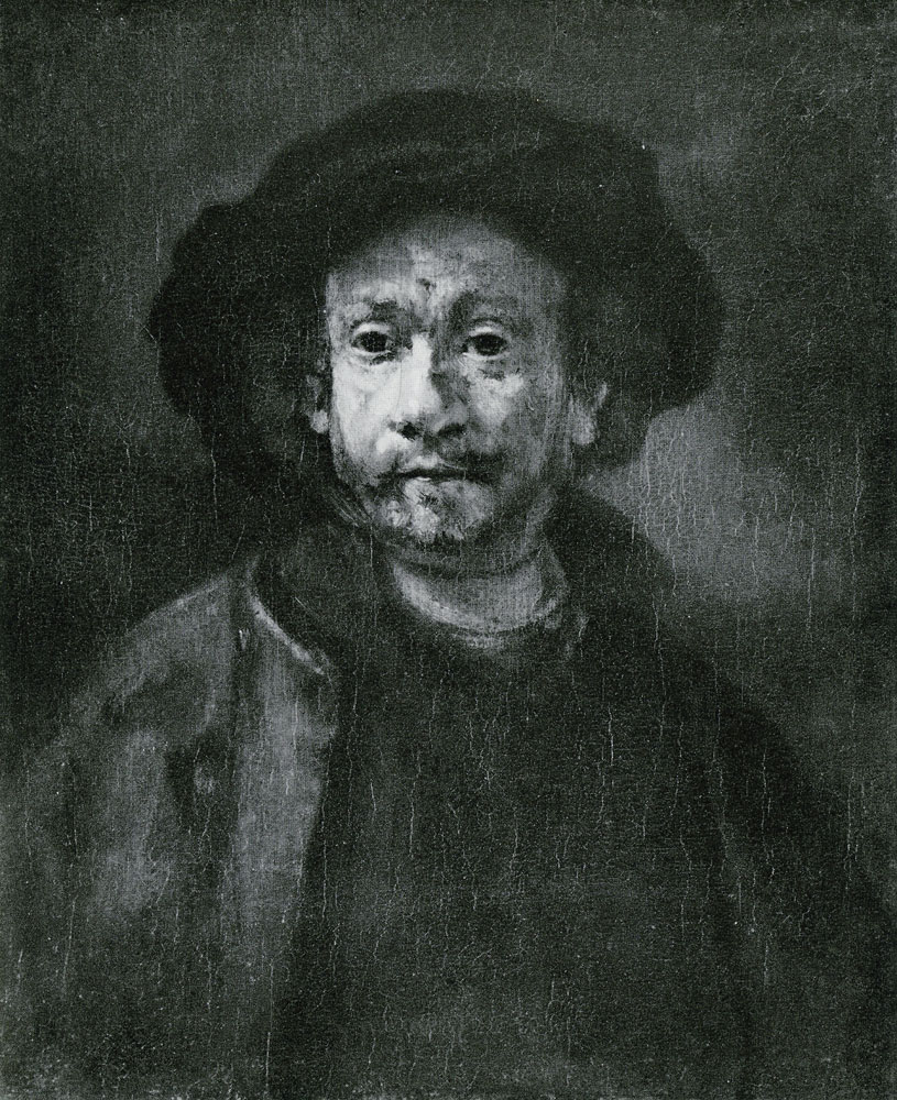 Rembrandt workshop - Portrait of Rembrandt