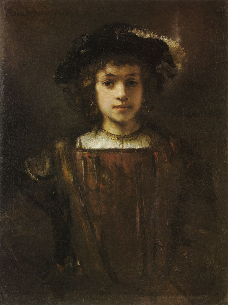 Style of Rembrandt - Rembrandt's Son, Titus