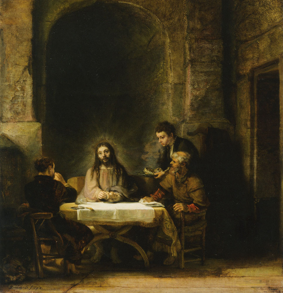 Rembrandt - The Supper at Emmaus