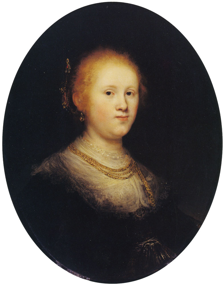 Workshop of Rembrandt - Portrait of a Young Woman