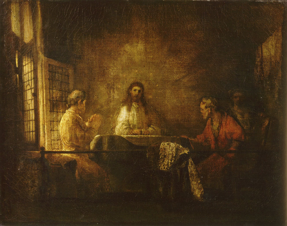 Studio of Rembrandt - Supper at Emmaus