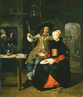 Gabriel Metsu The Artist as the Prodigal Son