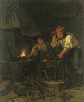 Gabriel Metsu A Blacksmith at Work