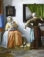 Gabriel Metsu A Woman Reading a Letter