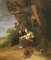 Gerard Dou Rest on the flight to Egypt