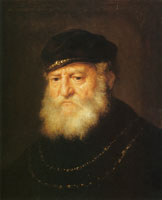 Govert Flinck Old Oriental Man