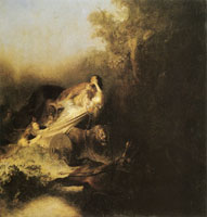 Rembrandt The Abduction of Proserpina