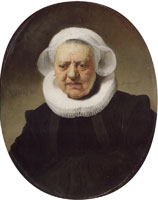 Rembrandt - Portrait of Aechje Claesdr.