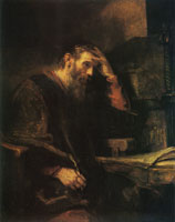 Rembrandt (and Workshop?) The Apostle Paul
