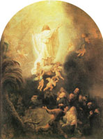 Rembrandt The Ascension