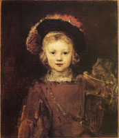 Rembrandt Portrait of a Boy