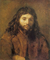 Rembrandt Bust of Christ