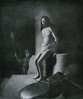Circle of Rembrandt Christ at the column