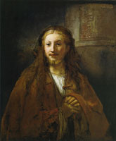 Rembrandt Christ with a Pilgrim's Staff
