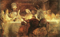 Rembrandt The Conspiracy of Claudius Civilis