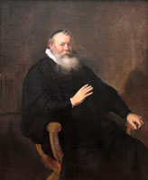 Rembrandt Portrait of the preacher Eleazar Swalmius