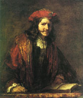Rembrandt? Evangelist Writing