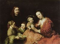 Rembrandt Portrait of a Family