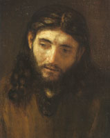 Rembrandt and Studio Head of Christ