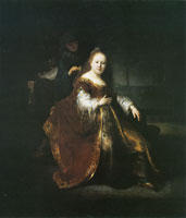 Rembrandt A Heroine from the Old Testament