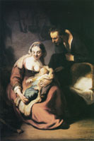 Rembrandt The Holy Family