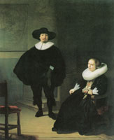 Rembrandt Jan Pietersz. Bruyningh and Hillegont Pieters Moutmaker