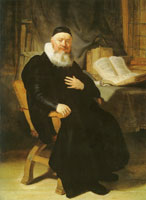 Rembrandt - Portrait of the Reformed Minister Johannes Elison