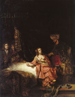 Rembrandt Joseph accused by Potifar's wife