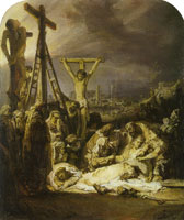 Rembrandt The Lamentation