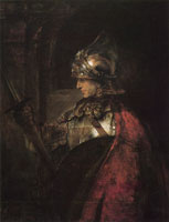 Rembrandt A Man in Armour