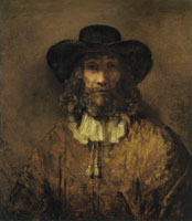 Style of Rembrandt Man with Beard