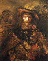 Rembrandt - Man with a Falcon on His Wrist