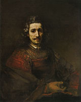 Rembrandt Man with a Magnifying Glass