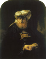 Rembrandt Man in Oriental Costume