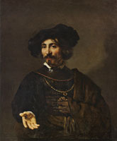 Rembrandt Man with a Steel Gorget