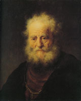 Rembrandt Bust of an Old Man